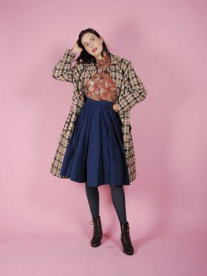 Cappotto anni 70 tweed