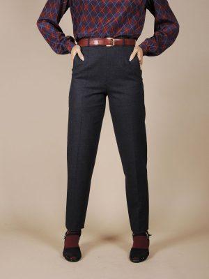 Pantalone blu basic