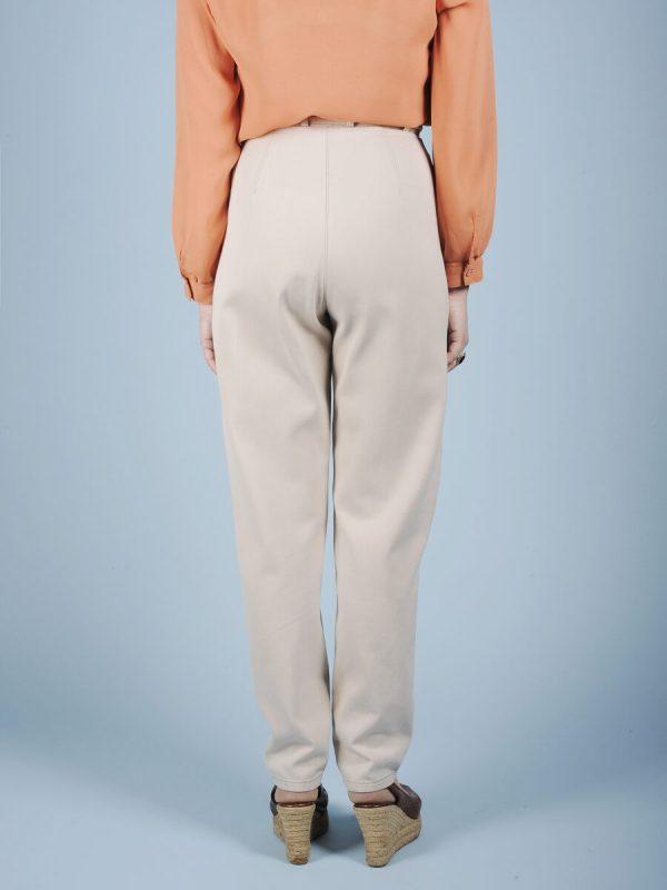 Pantalone ghiaccio con ricamo 3