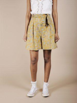 Short in puro cotone stampa batik