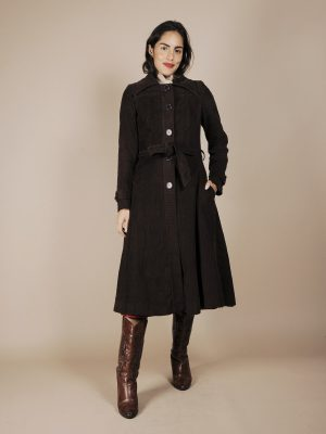 cappotto velluto costine