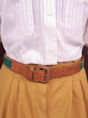 cintura marocchina in pelle di cammello