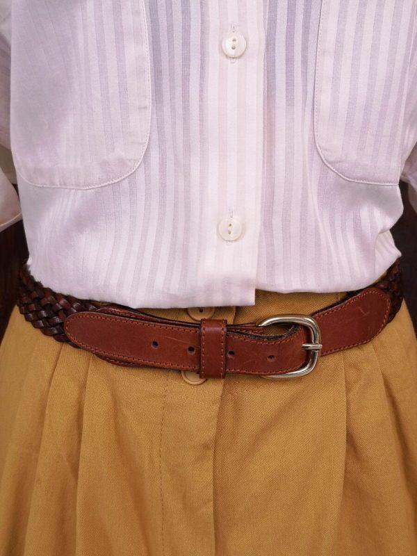 cintura media intrecciata