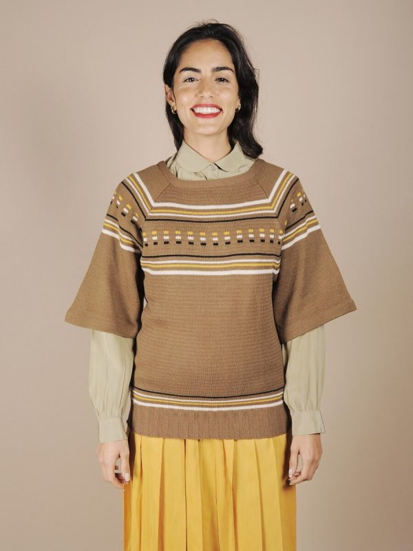 maglione geometrico anni 70