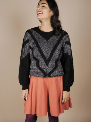 maglione nero anni80