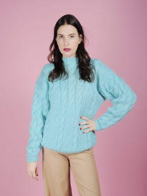 maglione over azzurro