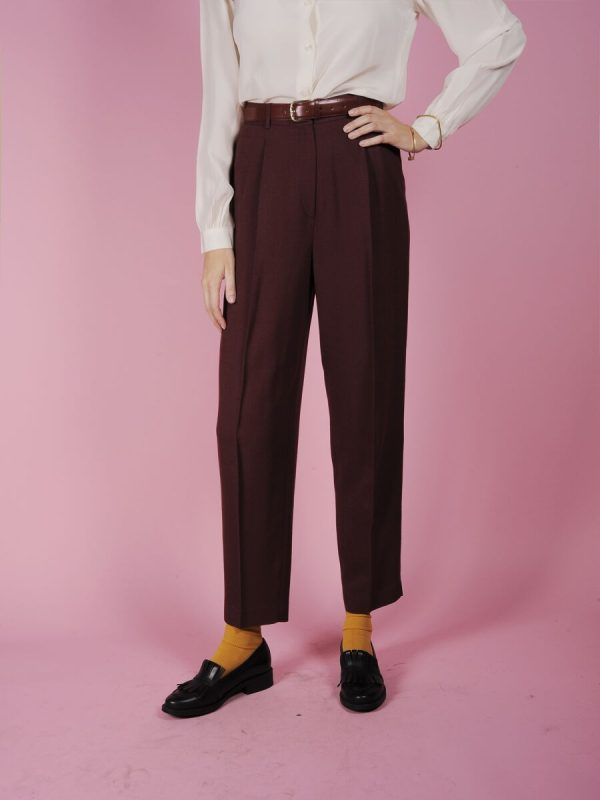 pantalone bordo vintage