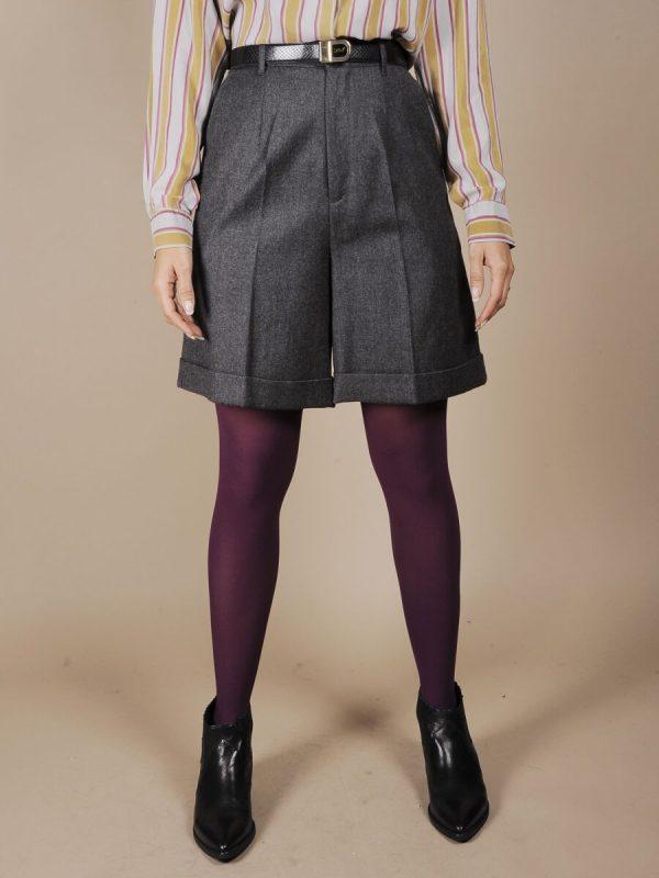 shorts lana grigio